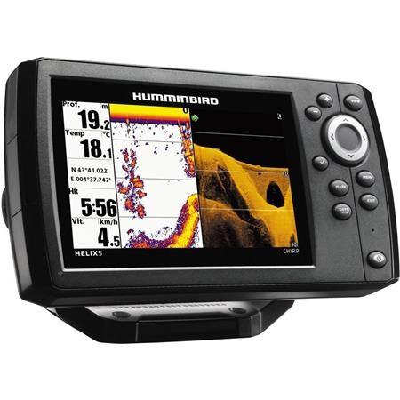 SONDEUR / GPS COULEUR HUMMINBIRD HELIX 5 G2 CHIRP DI