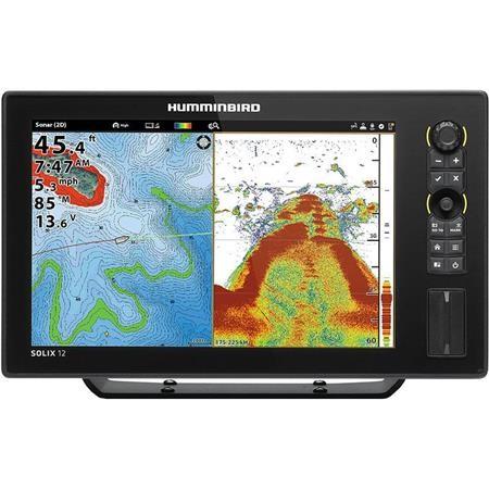 SONDEUR / GPS COULEUR HUMMINBIRD SOLIX 12 HD