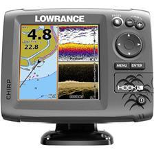 SONDEUR / GPS COULEUR LOWRANCE HOOK-5 CHIRP