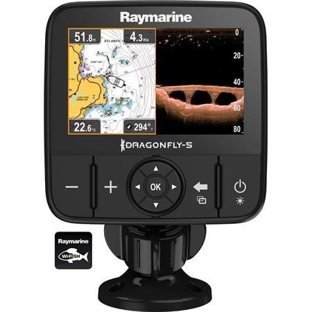 SONDEUR / GPS COULEUR RAYMARINE DRAGONFLY 5PRO