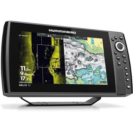 SONDEUR GPS HUMMINBIRD HELIX 10G3N CHIRP MEGA SI+