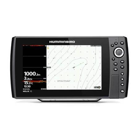 SONDEUR GPS HUMMINBIRD HELIX 10G4N CHIRP DS VERSION XD