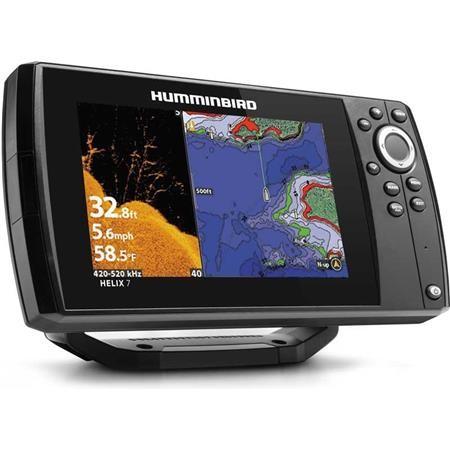 SONDEUR GPS HUMMINBIRD HELIX 7G3N CHIRP MEGA DI