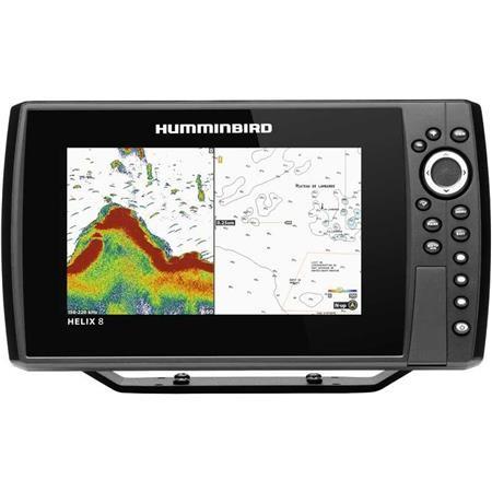 SONDEUR GPS HUMMINBIRD HELIX 8G3N CHIRP DS