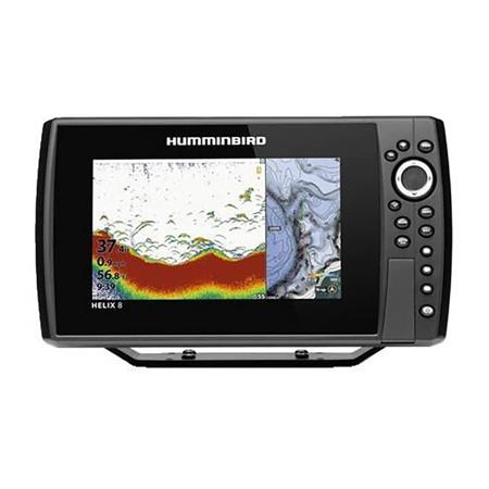 SONDEUR GPS HUMMINBIRD HELIX 8G4N CHIRP DS