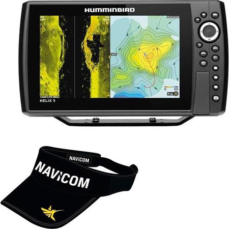 SONDEUR GPS HUMMINBIRD HELIX 9G3N CHIRP MEGA SI+