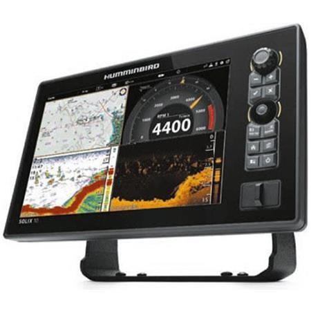 SONDEUR GPS HUMMINBIRD SOLIX 10 G2 MEGA DI +