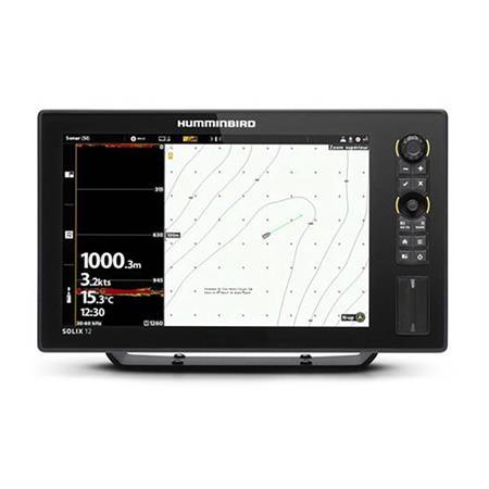 SONDEUR GPS HUMMINBIRD SOLIX 12 G3 DS CHIRP