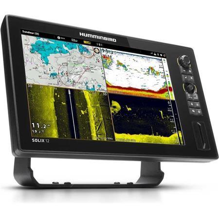 SONDEUR GPS HUMMINBIRD SOLIX 12'' MEGA SIDE IMAGING