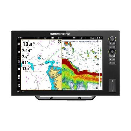 SONDEUR GPS HUMMINBIRD SOLIX 15 G3 DS CHIRP