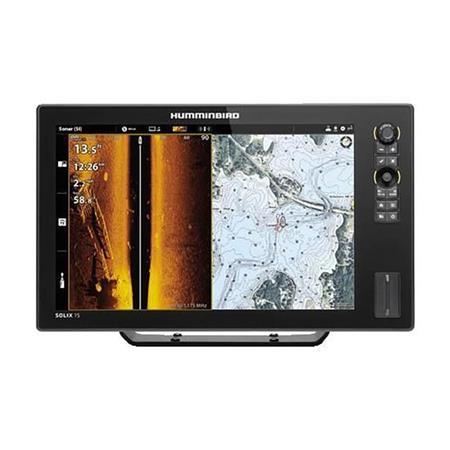 SONDEUR GPS HUMMINBIRD SOLIX 15 G3 MEGA SI+