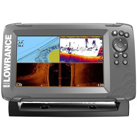 SONDEUR GPS LOWRANCE HOOK 2 - 7 TRIPLE SHOT