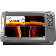 SONDEUR GPS LOWRANCE HOOK 2 - 9 TRIPLE SHOT