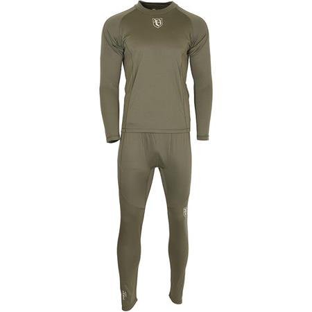 SOUS VETEMENT  HOMME VISION BAMBOO FIRST SKIN SET - OLIVE