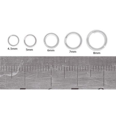 SPLIT RING PEZON & MICHEL SPECIALIST NI - PACK OF 15