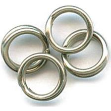 SPLIT RINGS MUSTAD MA031 NI - PACK OF 10