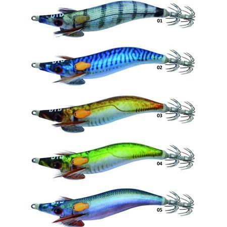 SQUID JIG DTD REAL FISH OITA - 9CM