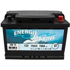 STARTBATTERIE ENERGIE MARINE 12V