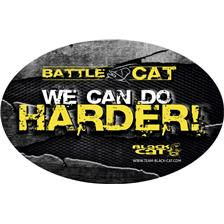STICKER BLACK CAT BATTLE CAT