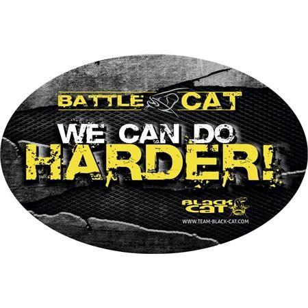 STICKER BLACK CAT BATTLE CAT
