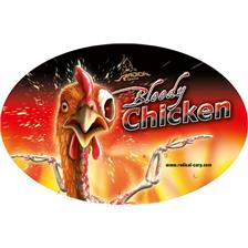 STICKER QUANTUM RADICAL BLOODY CHICKEN