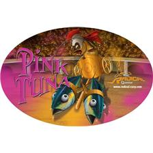 STICKER QUANTUM RADICAL PINK TUNA