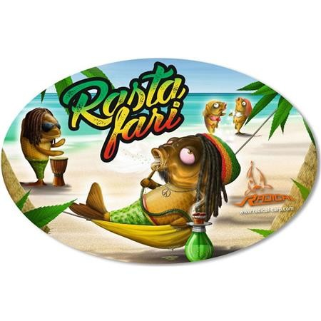 STICKER RADICAL RASTAFARI