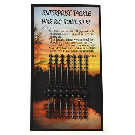 STOP BOUILLETTE ENTERPRISE TACKLE HAIR RIG BOILIE SPIKE