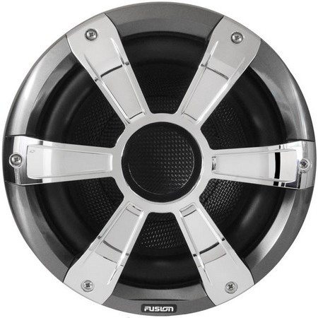 SUBWOOFER FUSION SIGNATURE SERIES WHITE SPORT CHROME LEDS