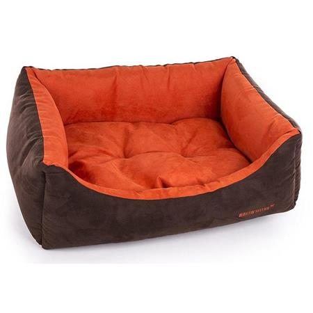 SUEDE COLLECTION DOMINO DOG BASKET MARTIN SELLIER DOMINO COLLECTION SUEDINE