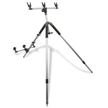 SURF CASTING TRIPOD ALU FOLDING FOR 3 RODS SEANOX
