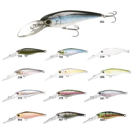SUSPENDING KUNSTAAS LUCKY CRAFT BEVY SHAD 60FC 6CM