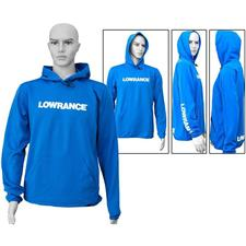 SWEAT CAPUCHE HOMME LOWRANCE - BLEU ROYAL