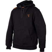 SWEAT HOMME A CAPUCHE FOX COLLECTION - BLACK/ORANGE