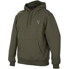 SWEAT HOMME A CAPUCHE FOX COLLECTION - GREEN/SILVER