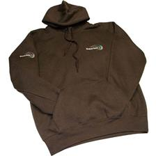 Apparel Mistral Baits SWEAT HOMME A CAPUCHE CHOCOLAT