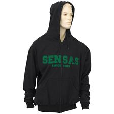 SWEAT HOMME CAPUCHE SENSAS - NOIR