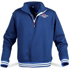 SWEAT HOMME COLMIC UNIVERSAL OFFICIAL TEAM - BLEU