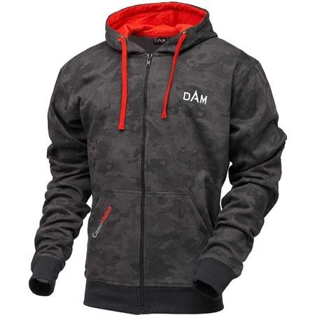 SWEAT HOMME DAM CAMOVISION ZIP HOODIE - CAMO