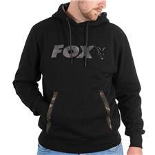 Habillement Fox BLACK CAMO PRINT HOODY NOIR/CAMO