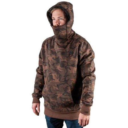 SWEAT HOMME FOX CHUNK FUNNEL NECK HOODY CAMO EDITION - CAMO