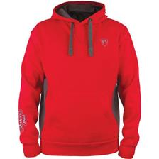 SWEAT HOMME FOX RAGE RIBBED - ROUGE