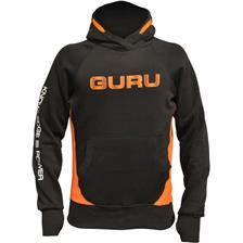 SWEAT HOMME GURU BRUSH LOGO HOODIE - NOIR
