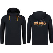 Apparel Guru LIGHTWEIGHT HOODY BLACK NOIR M