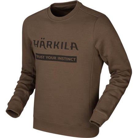 SWEAT HOMME HARKILA - MARRON
