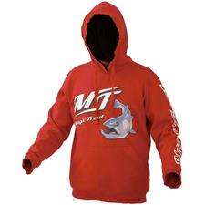 SWEAT HOMME MAGIC TROUT HOODY - ROUGE