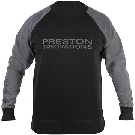 SWEAT HOMME PRESTON INNOVATIONS BLACK SWEATSHIRT - NOIR