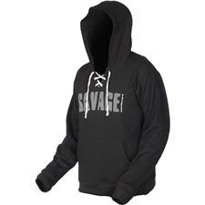 SWEAT HOMME SAVAGE GEAR SIMPLY SAVAGE HOODIE - GRIS