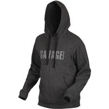 SWEAT HOMME SAVAGE GEAR SIMPLY SAVAGE ZIP - GRIS