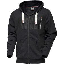 SWEAT HOMME SAVAGE GEAR ZIP HOODIE SG SIMPLY SAVAGE RAW - NOIR